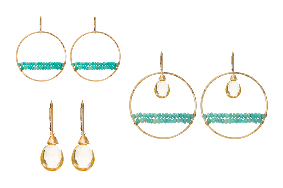"""""""Bead Bar"""" set is one of the Sabina Sisters (SabinaJewelry.com) favorite sets hand-picked from the Build Your Own interchangeable jewelry line. Dress up or be casual. These sets have every occasion covered!"""