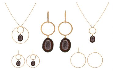 """Rock Love"" set is one of the Sabina Sisters (SabinaJewelry.com) favorite sets hand-picked from the Build Your Own interchangeable jewelry line. Dress up or be casual. These sets have every occasion covered!"