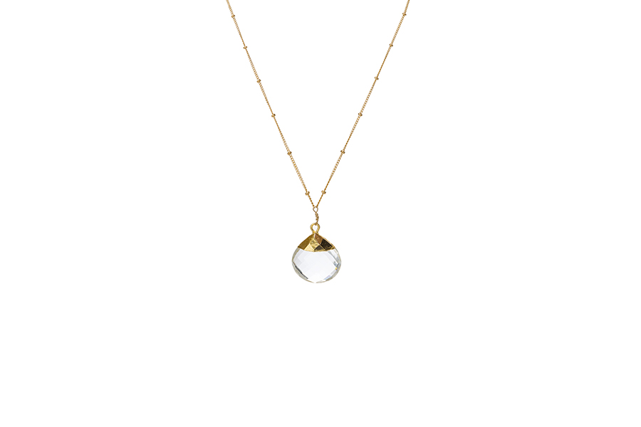 "The ""Pure Crystal"" necklace"