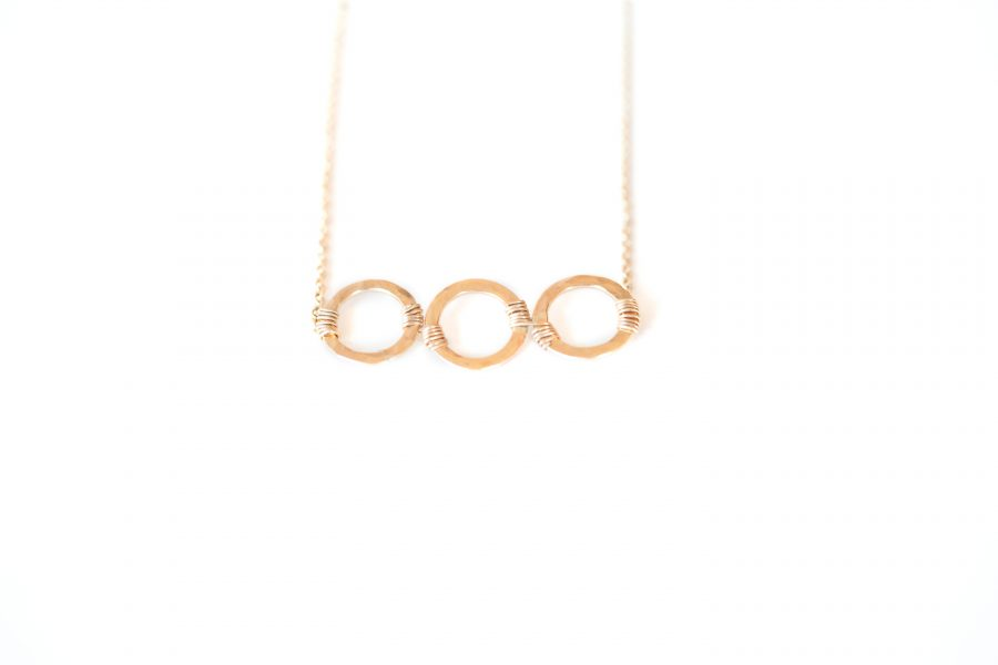 Going the Distance Necklace- SABINAJEWELRY.COM
