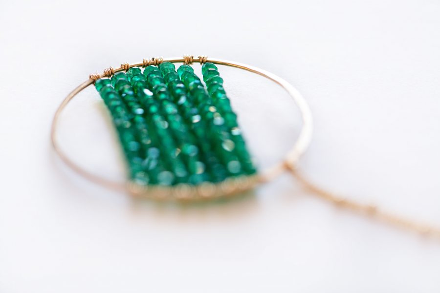 Thatch necklace