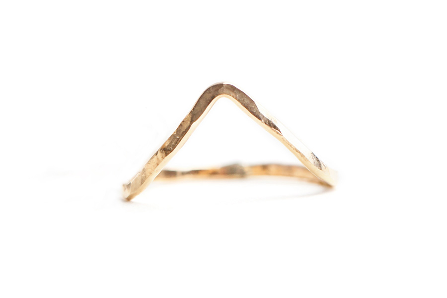 Sabina Jewelry Chevron Ring, $25