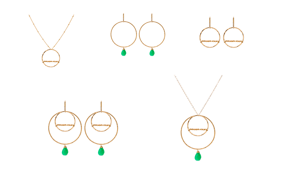 Ashley's set is one of the Sabina Sisters (SabinaJewelry.com) favorite sets hand-picked from the Build Your Own interchangeable jewelry line. Dress up or be casual. These sets have every occasion covered!
