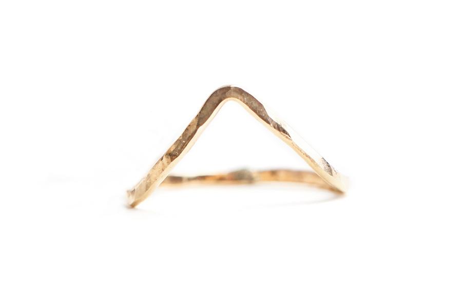 Sabina Jewelry Chevron Ring, $25