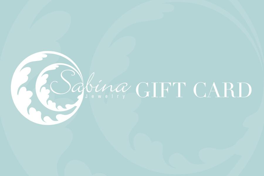 Sabina Jewelry Gift Card
