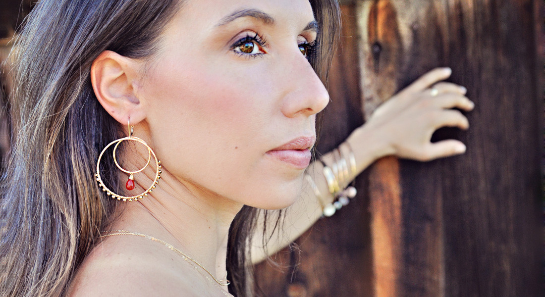 Sabina Jewelry Look Book, Spring Photo Shoot